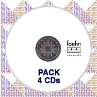 Pack de 4 CDs Foehn Records