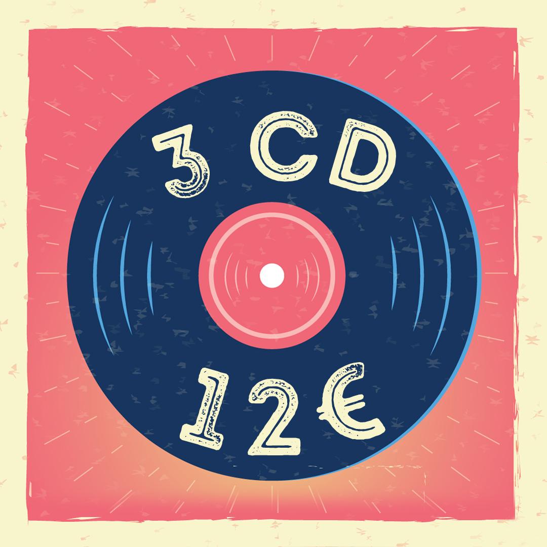 Pack 3CD